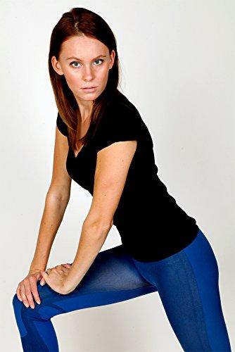 Blau Petrol Leggings Para Mujer Infinitoitaly qIpFwBSW