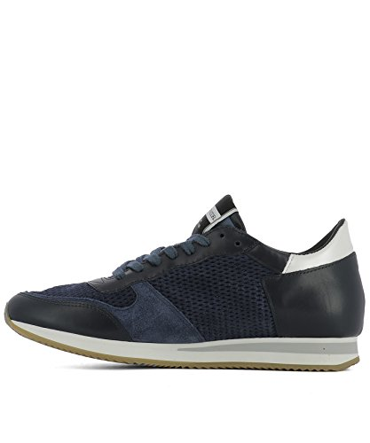 Philippe Model Sneakers Uomo TSLUHL15 Pelle Blu