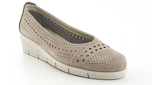 Taupe The Donna Palomino Flexx Haze Scarpe Media Zeppa nabuk 40 ATApxWRar