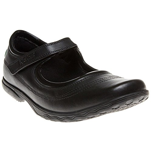 Kickers Keavy Bar Girls Shoes Black - Kickers Shoes Kids
