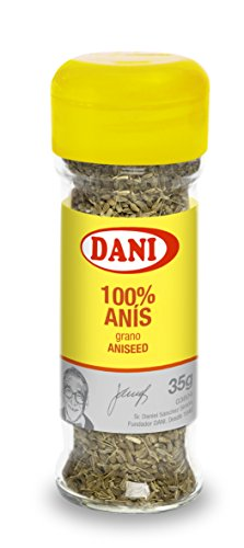 DANI Aniseeds, 1.2-Ounce Glass Jar (Pack of 12)