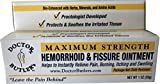 Doctor Butler's Hemorrhoid & Fissure Ointment with Lidocaine and Other FDA Approved Ingredients for Treatment and Relief of Pain