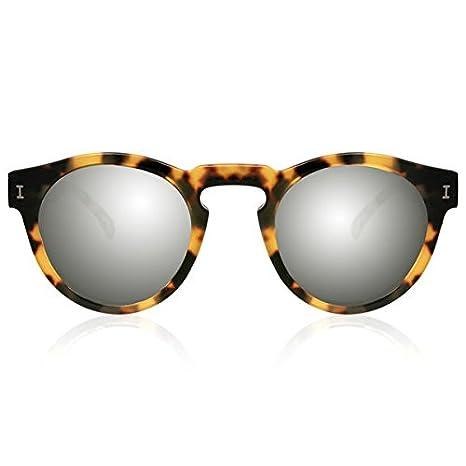 Amazon.com: illesteva Leonard tortuga con lentes de espejo ...