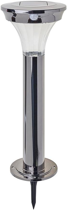 Black Gardman Solar Nickel Post Light