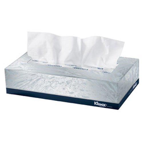 KCC21606 - Kleenex Facial Tissue, White, 2-ply, Pop-up Box, 1