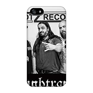 Anti-Scratch Hard Phone Case For Iphone 5/5s With Support Your Personal Customized Nice Nightrage Band Pattern JamieBratt