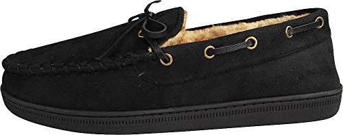 Moccasin Perry Moccasin Men's Classic Slippers Black Ellis tqtrw06