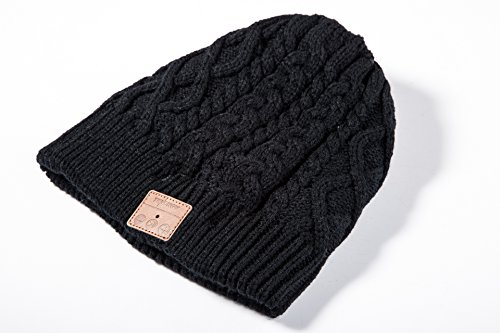 Tenergy Wireless Bluetooth Beanie Hat with Detachable Stereo ... 124acb85af6e