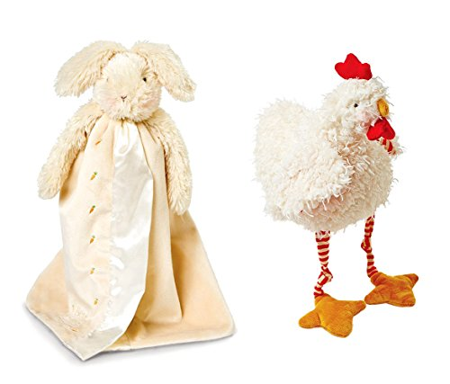 - Mozlly Value Pack - Bunnies by The Bay Rutabaga Bunny Buddy Blanket and Clucky Chicken (2 Items) - Item #K184002-184006