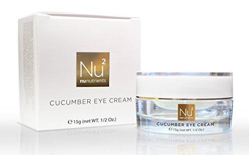 NuNutrients - Concombre Eye Cream - Crème Apaisante yeux pour les cernes, les rides et la fermeté