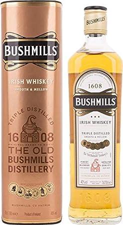 Bushmills Triple Distilled Original Irish Whiskey 40% - 700 ml in Giftbox