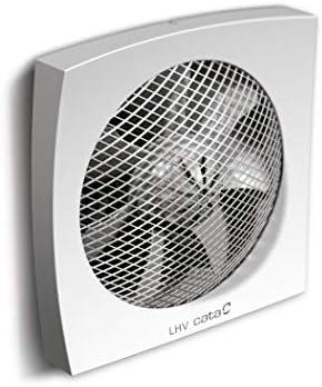 Cata LHV 160 - extractores (Pared, Cuarto de baño, Color Blanco, 450 m³/h, 16 cm, 1750 RPM): Amazon.es: Bricolaje y ...