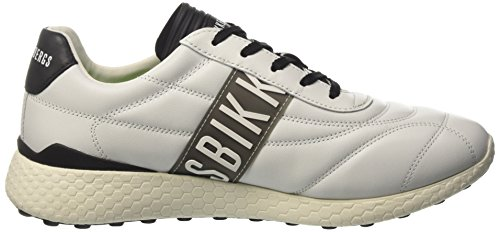 Bikkembergs Strik-Er 895, Zapatillas para hombre Blanco (White/black)