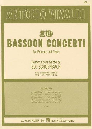 10 Bassoon Concertos - Volume 1 - 41nNzbDaSbL - 10 Bassoon Concertos – Volume 1