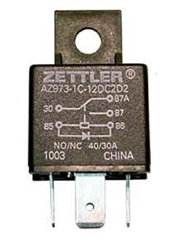 Warn 66510 ATV Plow Electric Actuator Relay Replacement For PN[67650] ATV Plow Electric Actuator Relay
