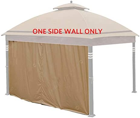 Hofzelt Gazebo Universal 12-ft Replacement Curtain Side Wall Privacy Panel One Side Only