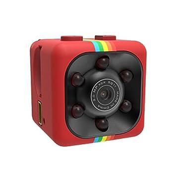 Mini cámara espía Full HD 1080P Resolutie? Mini cámara Full HD 1080p 30FPS ? Kleur Rood: Amazon.es: Bricolaje y herramientas