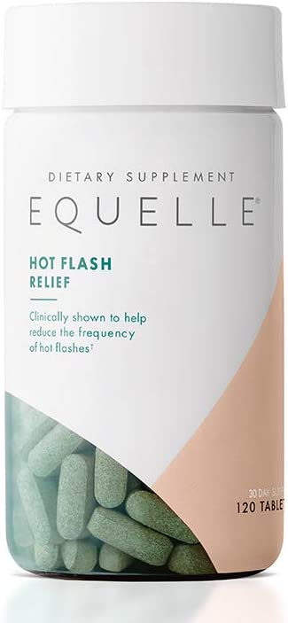 EQUELLE Hot Flash Menopause Relief   Hormone-Free Multi-Symptom Menopause Relief   Safe and Reliable   30-Day Supply