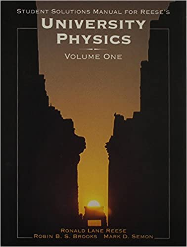 University physics student solutions manual v1 ronald reese university physics student solutions manual v1 1st edition fandeluxe Image collections