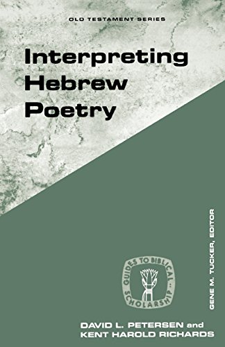 Interpreting Hebrew Poetry (Guides to Biblical Scholarship Old Testament Series)