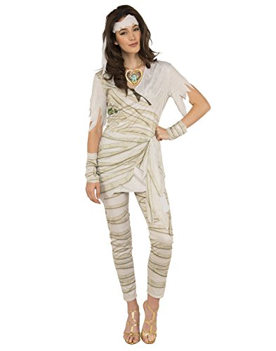 Adult Mummy Costumes - Rubie's Costume Co. Women's Queen of the Undead Mummy Costume, As Shown, Standard