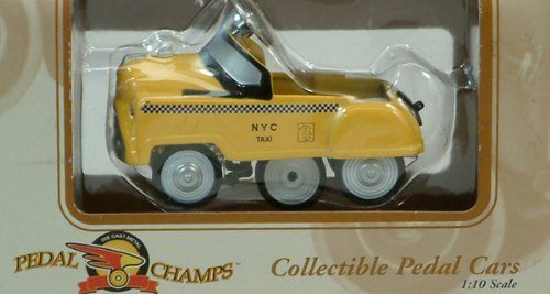 Taxi Pedal Car - Pedal Champs Collectible Pedal Car N.Y. Taxi
