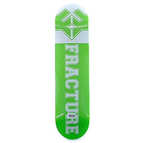 Fracture Skateboards Uni Vert Planche 19,7cm gratuit Bande antidérapante