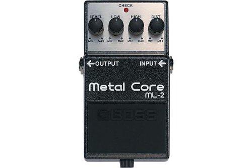Boss ML-2 Metal Core Distortion - Effects Distortion Pedal Metal
