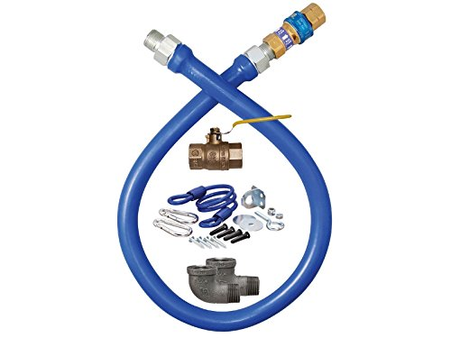 Dormont Manufacturing Safety System Moveable Gas Connector Kit, 3/4''