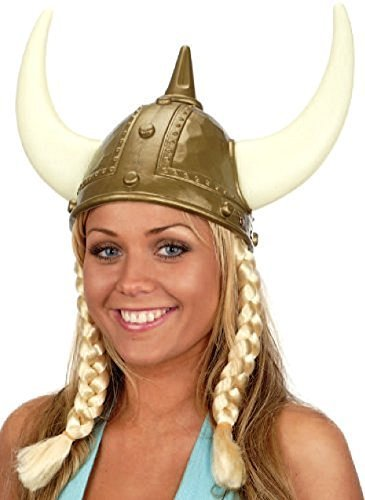 Buy jacobson hats gold adult viking helmet and horns