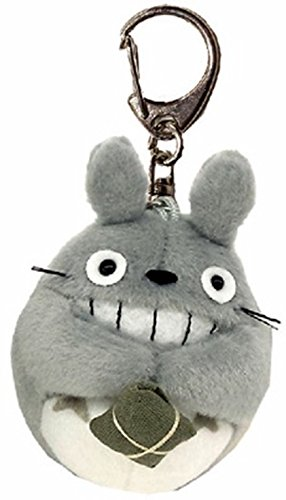 My Neighbor Totoro Totoro Studio Ghibli and soft plush key chain smile