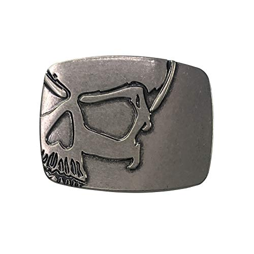 Skull Head Belt Buckle Cool Gift for Men