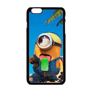 Cute naughty horarios de minions Cell Phone Case for Iphone 6 Plus