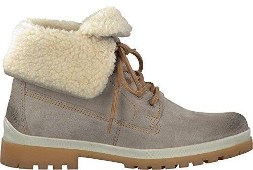 Tamaris Damenschuhe 1-1-26754-29 Damen Stiefel, Boots, Damen Stiefeletten, Herbstschuhe & Winterschuhe für Modebewusste Frau Stone