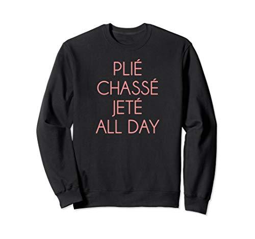 ballet t shirt dance ballet top plie chasse jete all day ()