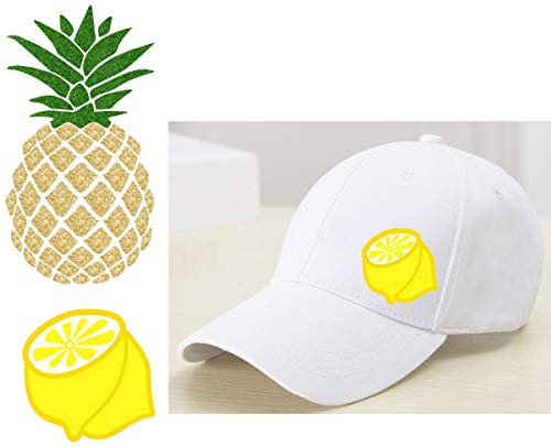 on-On Transfer Pineapple Iron On Patch Fruit Iron-on Applique ()