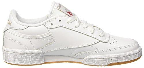 Bianco light Donna Club Reebok white 000 Fitness C Scarpe Da Grey 85 gum xwfRnqRz0F