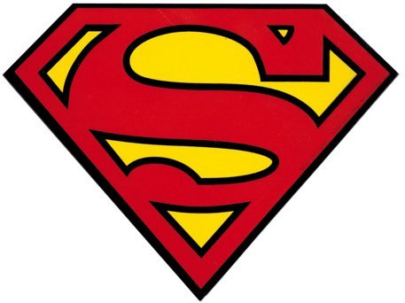 Superman - Classic Shield Logo - Sticker / Decal (Superman Decal)