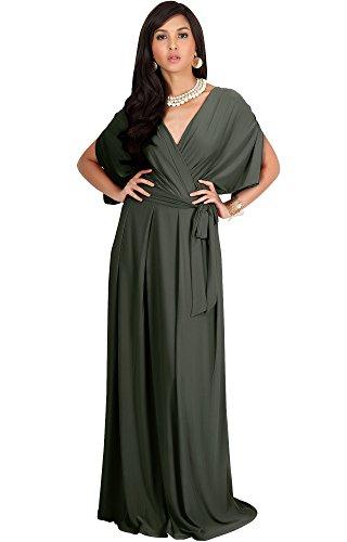 olive military dress - 9