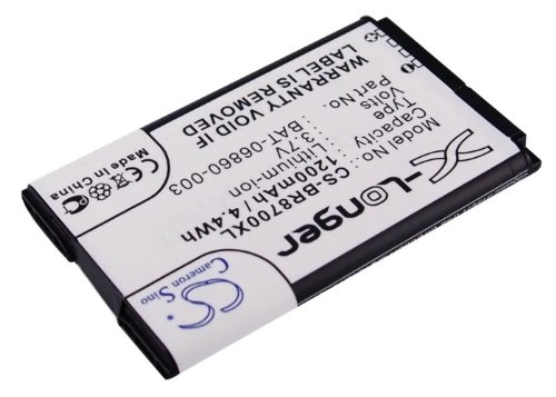 VINTRONS Battery Blackberry 8700, 8700c, 8700f, 8700g, 8700v, 8707, 8707g, 8700t, 870, Li-ion, 1200 mAh