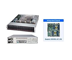 Supermicro SuperServer 2027R-AR24NV Barebone System - 2U Rack-mountable - Intel C602 Chipset - Socket R LGA-2011 - 2 x Processor SSG-2027R-AR24NV