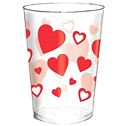 Valentines Day Tumblers 30ct AMSCAN 350050
