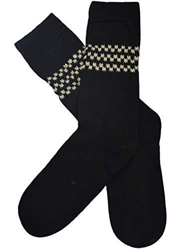 Gamboa Rustic Alpaca Socks (Black)