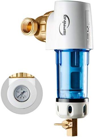 iSpring WSP50GR-E - Filtro de agua reutilizable para sedimentos ...
