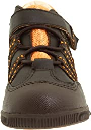 FootMates Tab,Brown Full Grain/Orange,4 M US In