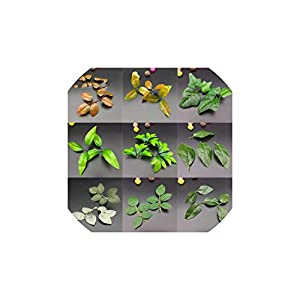 10Pcs/Lot Green Artificial Plants Leaves Wedding Home Decoration Flowers Leaf Accessories DIY Craft Handcraft 63