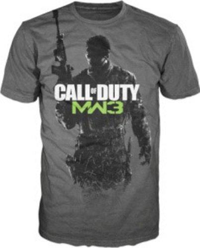 Tama o 'Call Duty Warfare Gris 3' Gunner Camiseta Logo Of Xxl Modern znxTEdvg