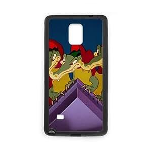 Samsung Galaxy Note 4 Cell Phone Case Black Fantasia Character Ben Ali Gator xezq
