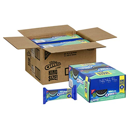 Oreo Smile Mint Creme Cookies, 4.1 Ounce -- 20 per case.]()