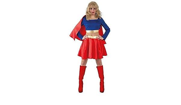 DISBACANAL Disfraz Superwoman - -, S: Amazon.es: Juguetes y juegos